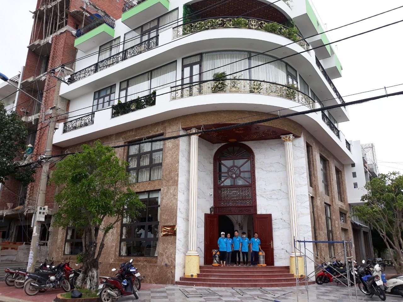 Dịch vụ vệ sinh nhà cửa tại Quy Nhơn