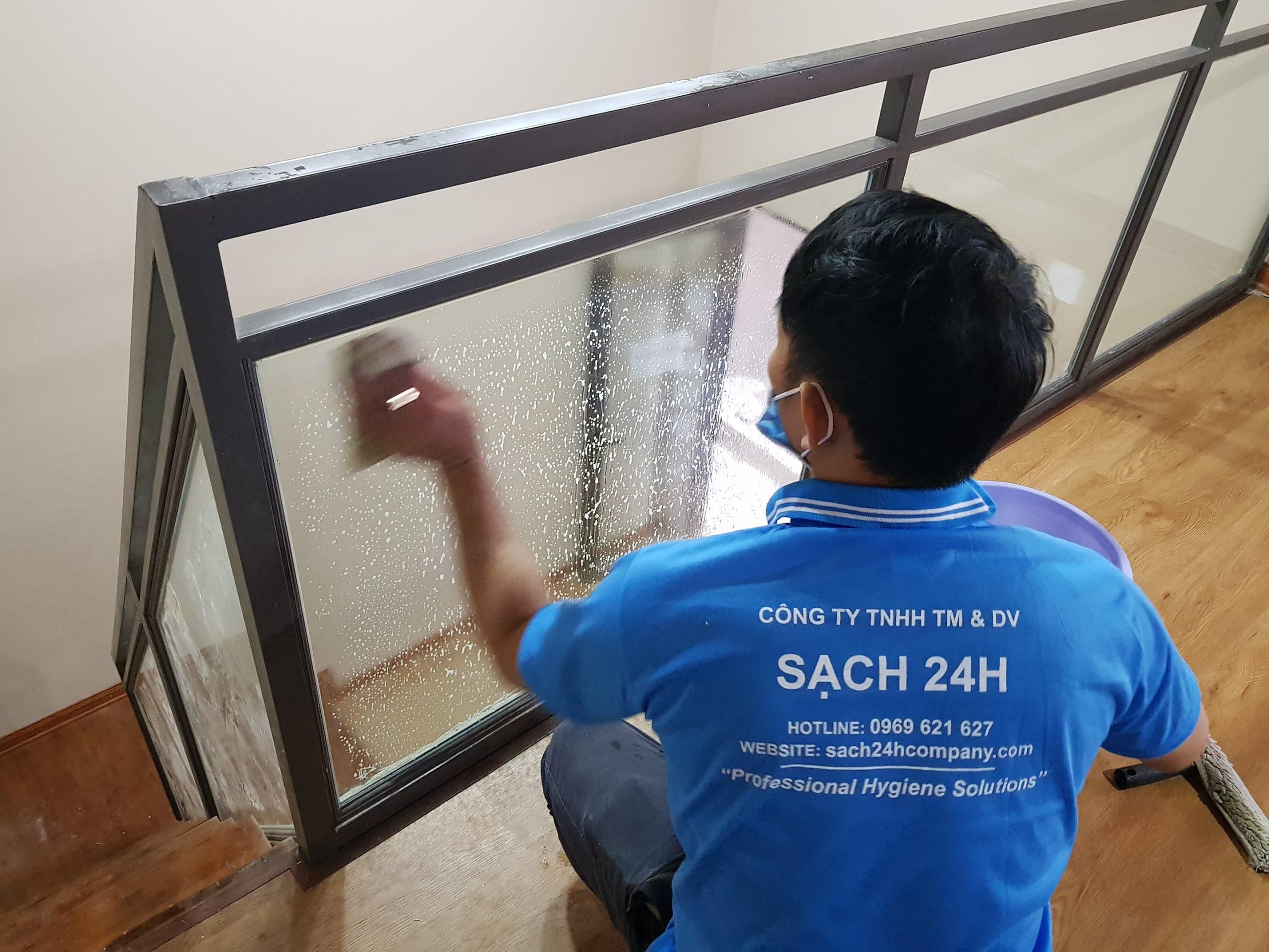 Dịch vụ vệ sinh sau xây dựng tại Quy Nhơn