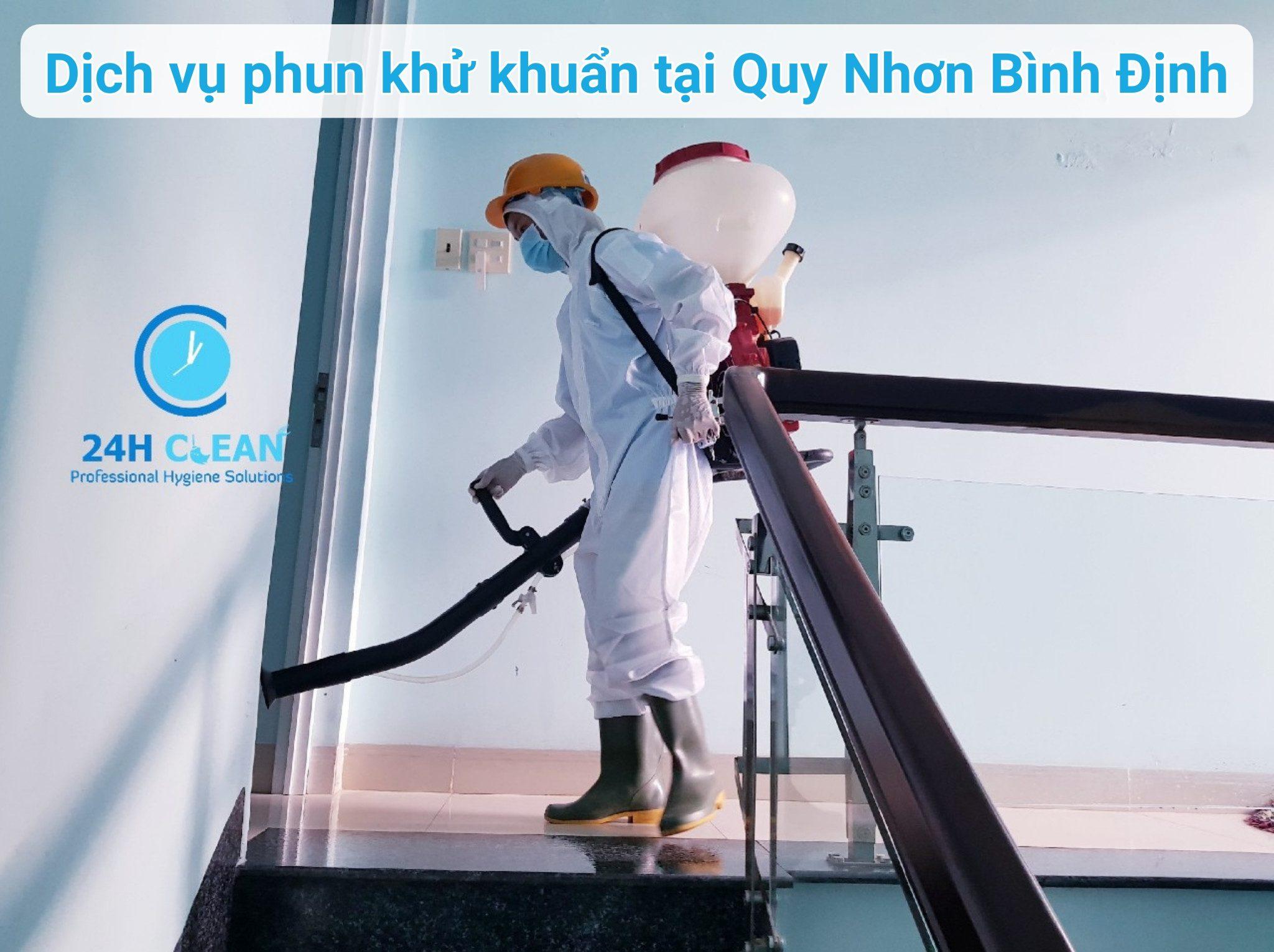 Dịch vụ phun khử khuẩn tại quy nhơn bình định