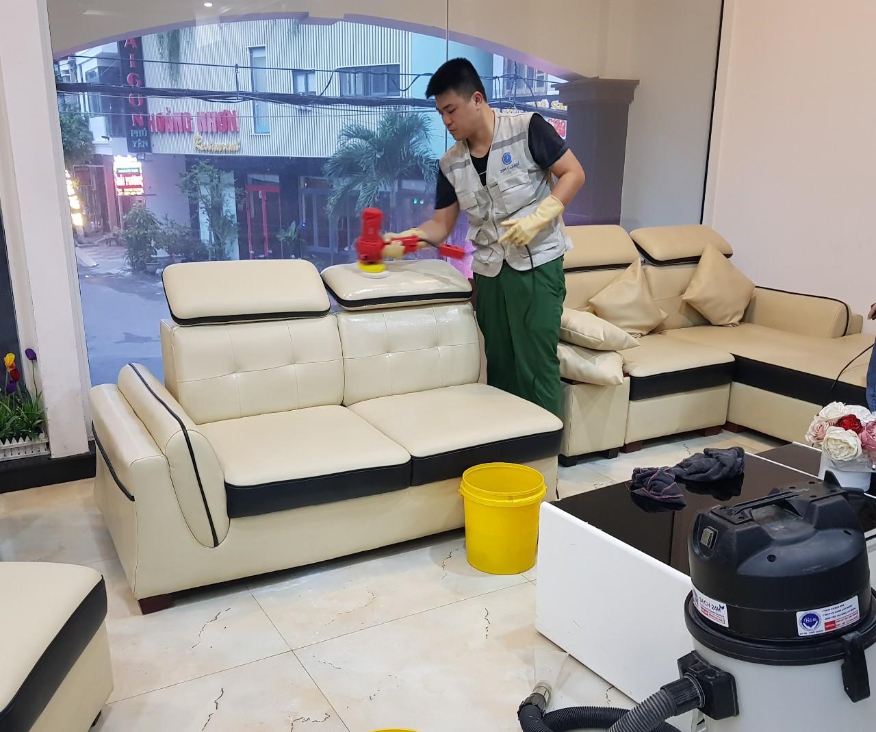 Dịch vụ giặt ghế sofa tại quy nhơn